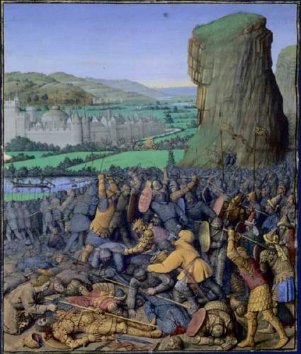 Bataille_de_Gelboé fouquet mort Saul.jpg