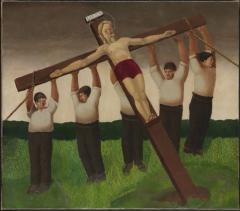Gilbert SpencerThe Crucifixion 1915.jpg