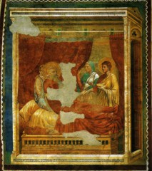 giotto isaac bénissant jacob, isaac blessing jacob.jpg