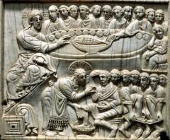 début du XIIè. Ecole d'Italie du sud. Salerne Museo Diocesano di San Matteo..jpg