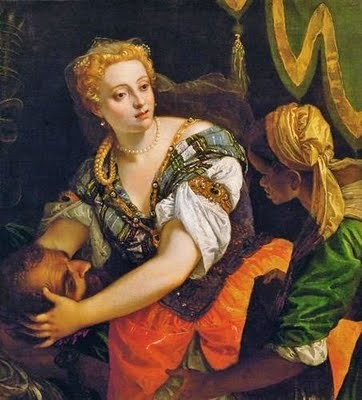 1580 Paolo Veronese (1528 - 1588) Judith with the Head of Holofernes c.1580.jpg