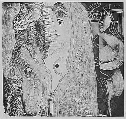 david beth et Natan Picasso estampe 1970 50 53 St Etienne.jpg