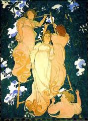 DENIS 1892 L ECHELLE DANS LE FEUILLAGE fresque.jpg