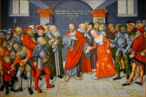 Maastricht cranach femme_adultere 2.JPG