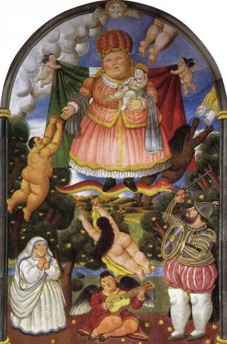 Fernando Botero Painter Colombian [phistars.com] 5 stars 1932 Figurative Art celestial-portal 1993.jpg