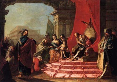 MOISE  et couronne pharaon  Art Bible.net.jpg