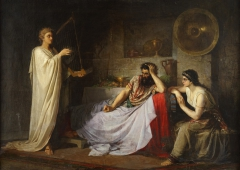 Plyusnin N.M. David Playing the Harp to Saul. 1873 Ekaterinenburg.jpg