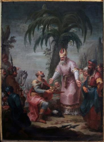 Peinture de Mauro Picenardi (1735-1809) 1787 Sorisole, eglise Italie.jpg