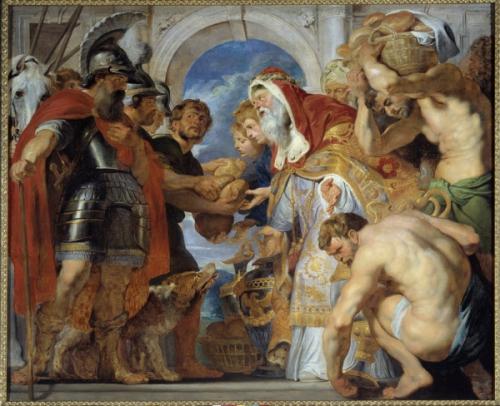 Rubens (ou Peter Paul ou Petrus Paulus) (1577-1640) Ec. Flam., 1616.  2,04 x 2,50m. Caen, Musee Des Beaux Arts.jpg