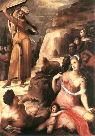16 BECCAFUMI MOSES AND THE GOLDEN CALF.jpg