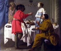 Jacob reproching Laban1627, Hendrick ter Brugghen.JPG