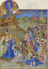 L'adoration représentée dans les trés riches heures du Duc de Berry.jpg