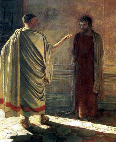 Jésus devant Pilate (Nicolaj Nicolajevich Gay, 1890)