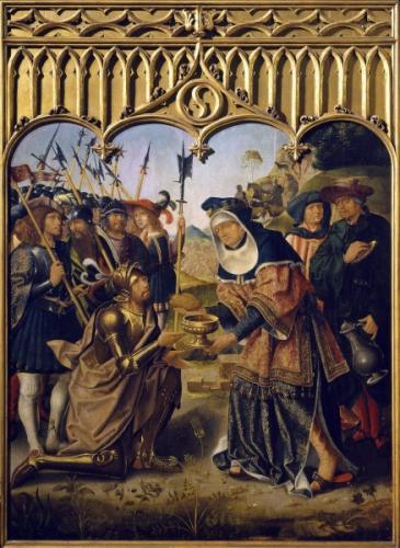 Peinture du maitre de san Francesco d'Evora (actif au 15eme siecle) Lisbonne, Museu Nacional de Arte Antiga.jpg