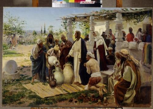 Vladimir Yegorovich Makovsky (Makovsky, Makovskij) (1846-1920), huile sur toile. Art russe, 19e siecle. Regional art Museum, Vitebsk.jpg