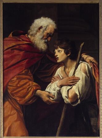 Leonello Spada (1576 - 1622), 17eme siecle. Huile sur toile.  1,60  1,19m. Paris, Musee Du Louvre.jpg