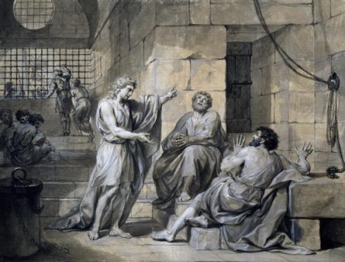 josph prison dessin Mengs 1755  vienne.jpg